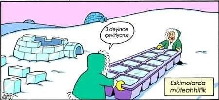 Eskimolarda müteahhitlik!!!